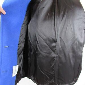 007dfd6a21 Saks Fifth Avenue Jackets   Coats - Saks Fifth Ave Black Blue Wool Peacoat  sz 8